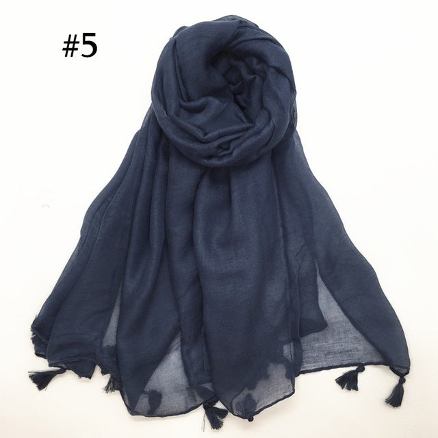Viscose Hijab | Lightweight, Soft Viscose Hijab