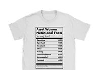 Asset Woman Nutritional Facts Women's Tee