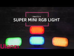 Ulanzi VL15 Super-Mini RGB Video Light