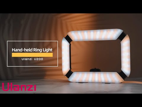 Ulanzi U200 Camera Ring Light Video Rig