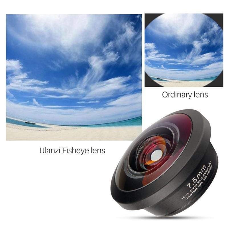 238° 7.5mm Fisheye Lens for Smartphone - ULANZI Store