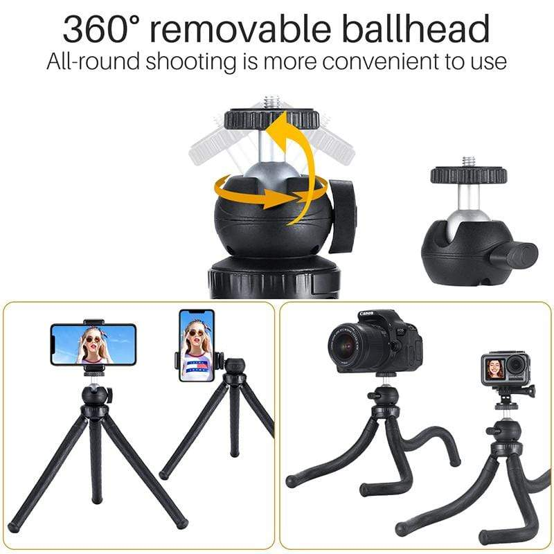 MT-07 Octopus Flexible Tripod with Ball Head - ULANZI Store