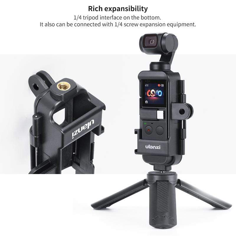 ULANZI Magnetic Quick Release Tripod Mount for GoPro 4 5 6 7 8 Max DJI OSMO Action,Strong Magnetic and Safe Locking for Action Camera Vlogging Accessories