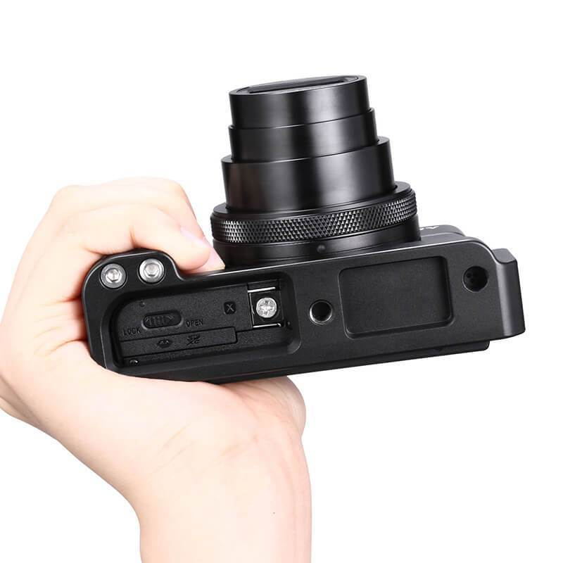R017 SONY RX100 VII Microphone Handle Grip L Type Bracket UURig