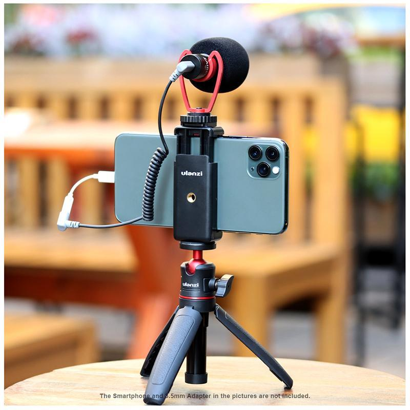 Ulanzi Phone Vlogging Super Extension Tripod Handle Outfit
