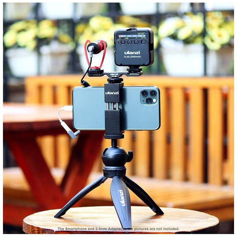 Ulanzi Phone Vlogging Super Extension Tripod Handle Outfit 3