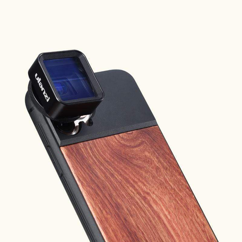 Ulanzi Wooden 17mm Thread Phone Case for iPhone 11 Pro