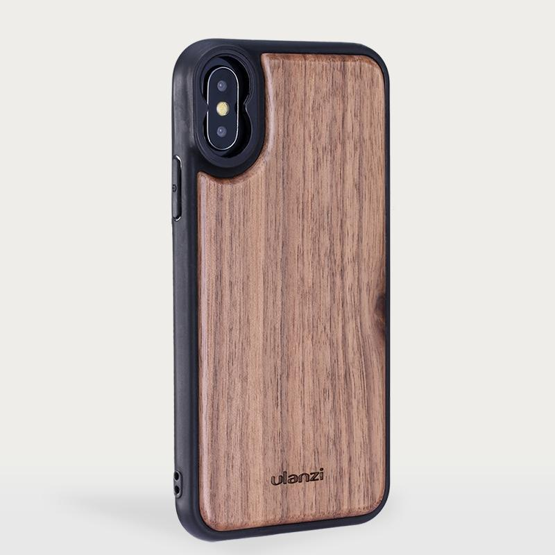 Phone Lens Case in Wood for iPhone X, iPhone XS, iPhone XS Max