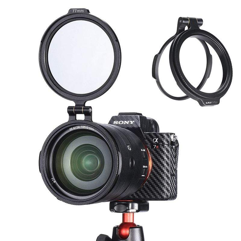 Aluminum Rapid ND Filter Mount Bracket 49/58/67/77/72/77/82mm - ULANZI Store