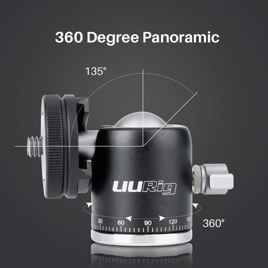 R001 360 Degree Panoramic Ball Head - ULANZI Store