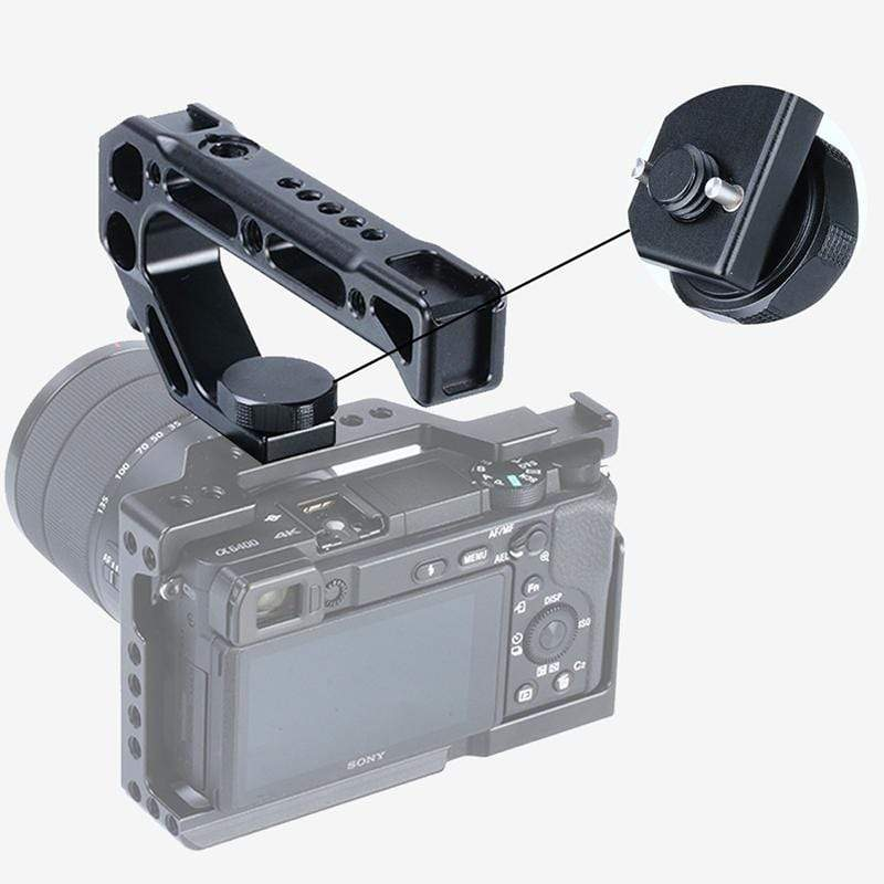 R008 Camera Cold Shoe Top Handle - ULANZI Store