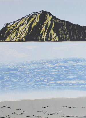 Bare Island | Large - Woodblock Print