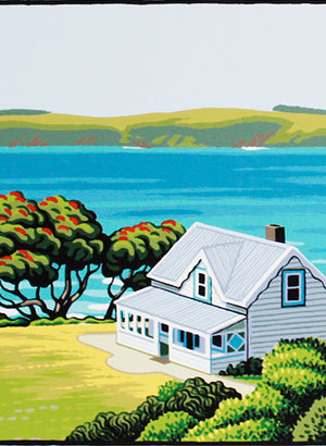 Homestead Matheson Bay - Screen Print