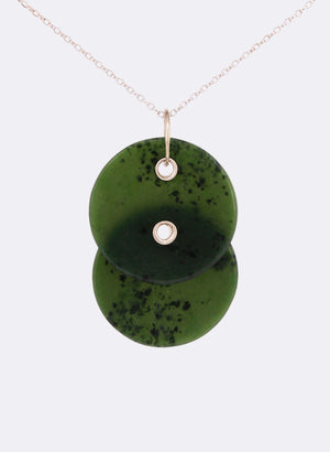 Pounamu Disc Necklace