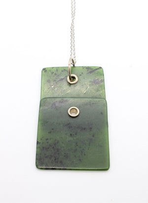 Pounamu Double Slice Necklace