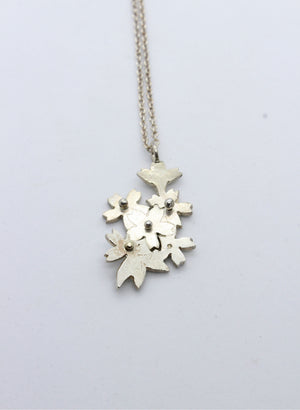 Cut Out Cherry Blossom Pendant