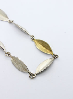 Mirror Leaf Necklace