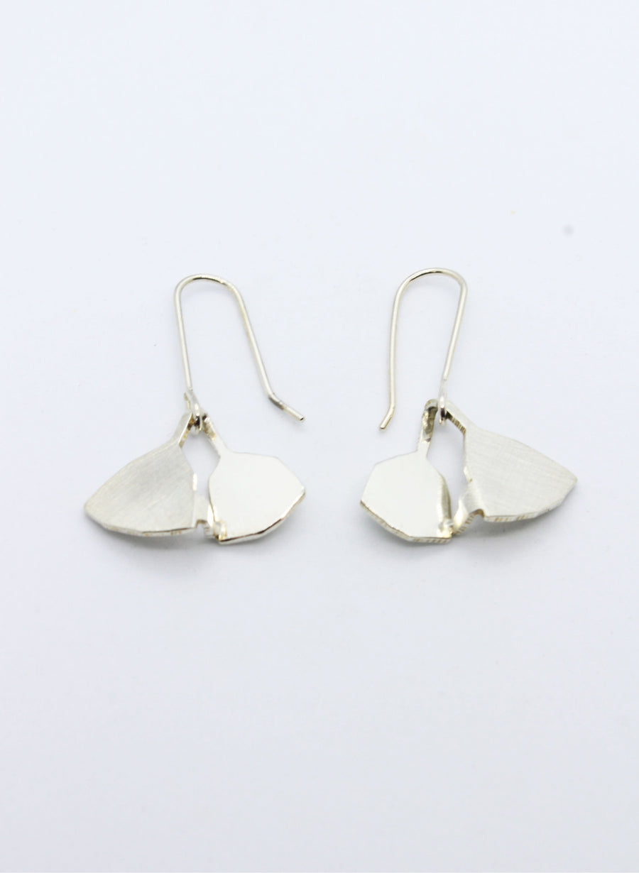 Leaf Structure Earrings