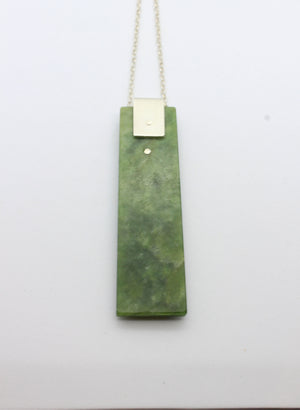 Greenstone Toki Necklace
