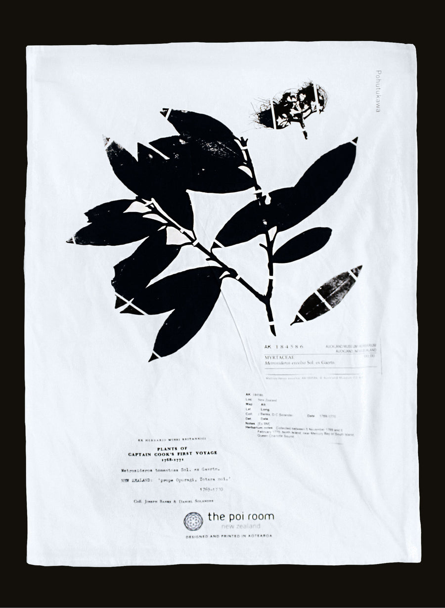 Native Pohutukawa Tea Towel
