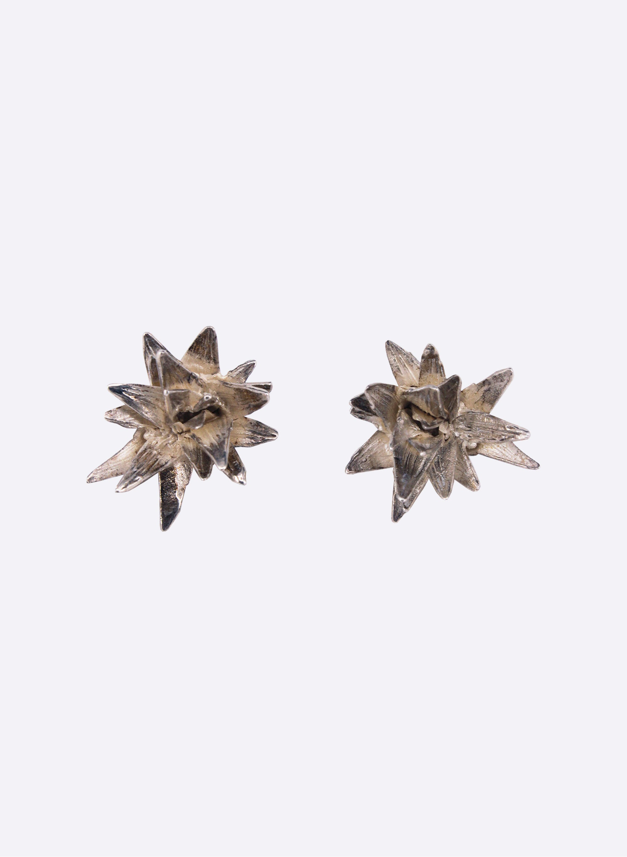 Cabbage Tree Stud Earrings