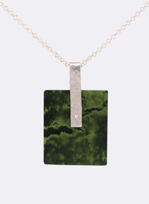 Pounamu Slice Necklace