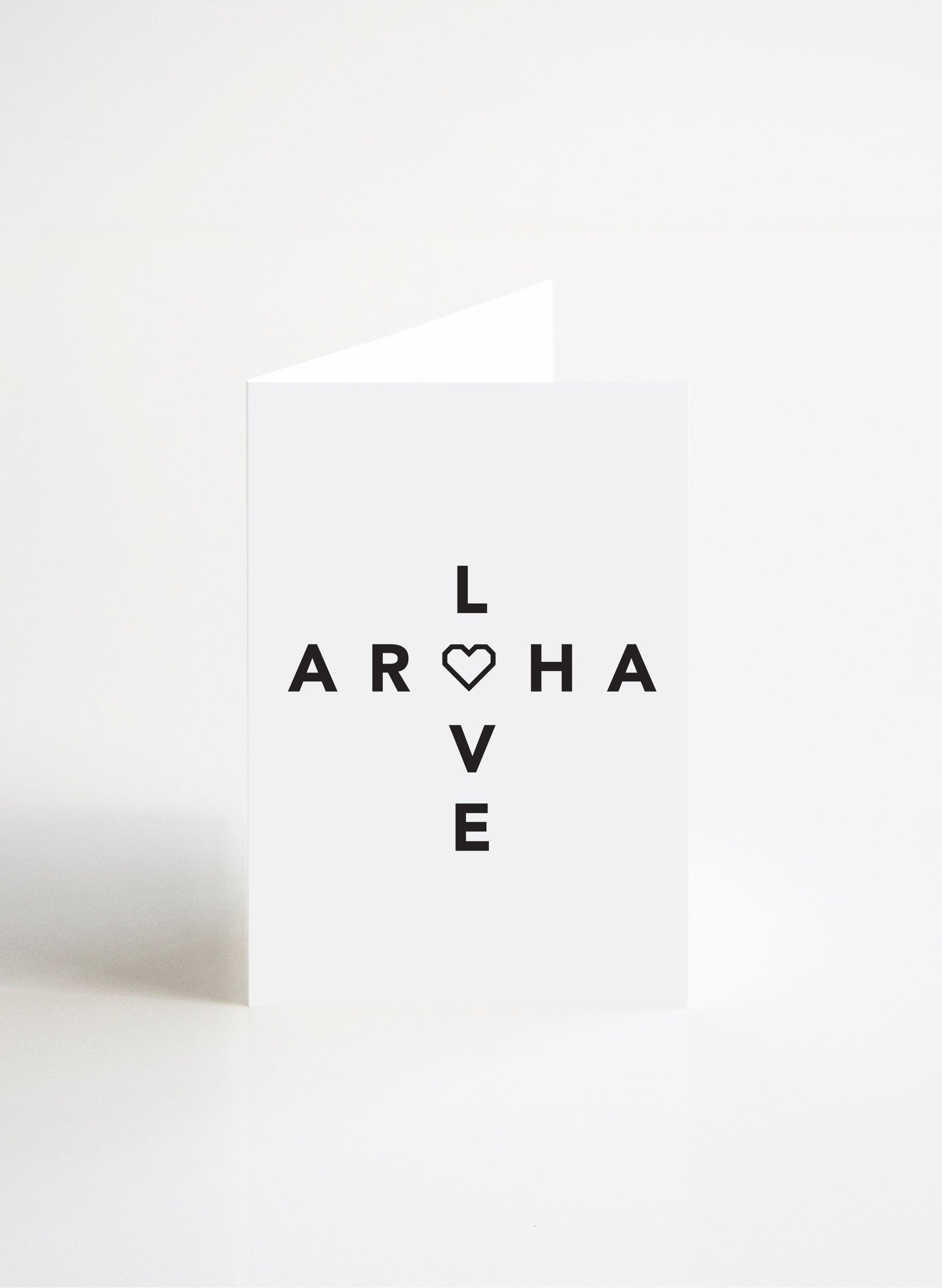Love & Aroha - Black