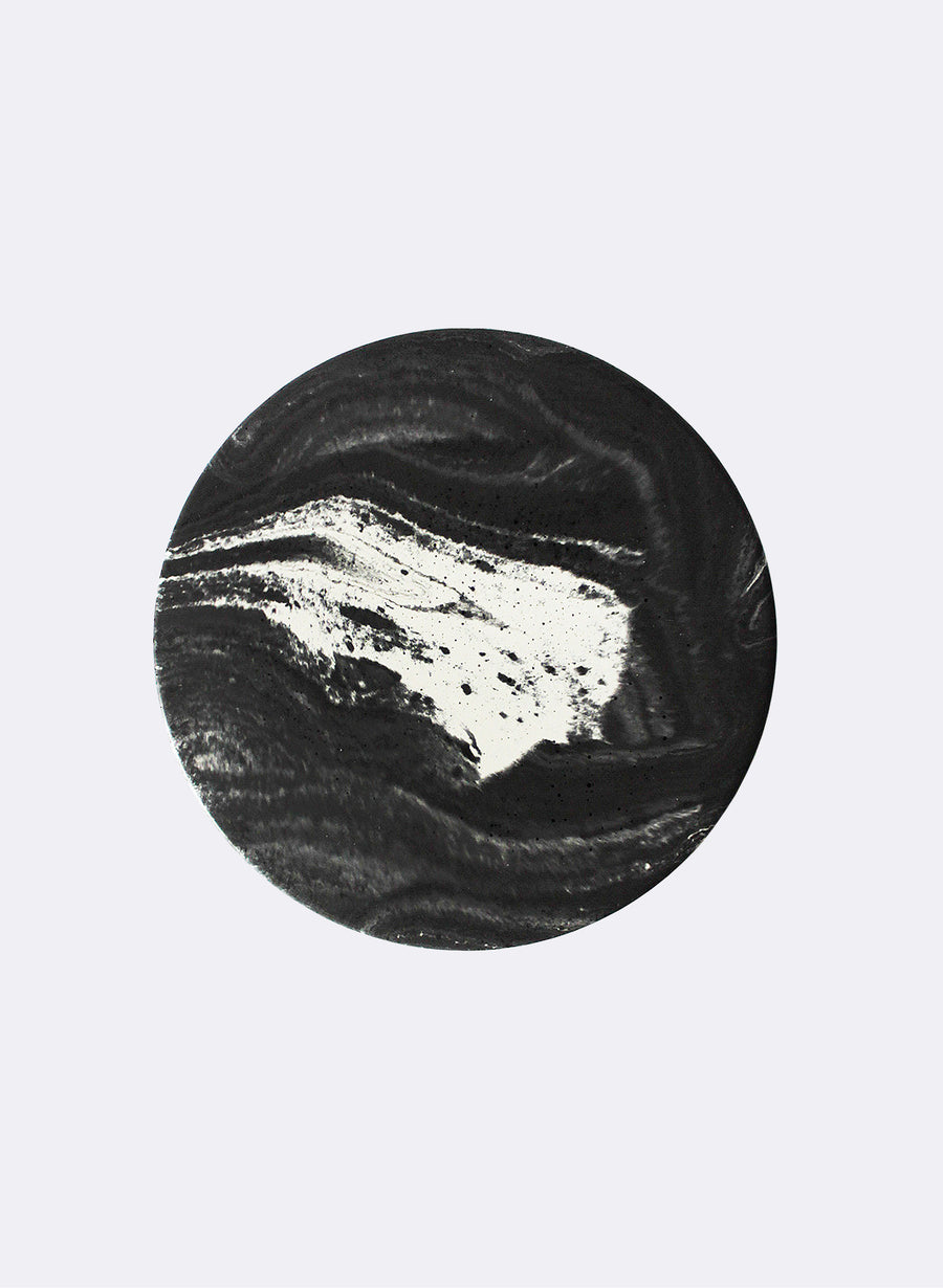 Marble Concrete coasters - Set of 4