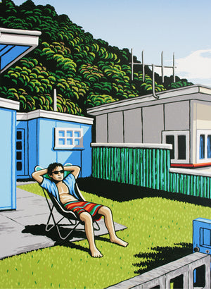 Timeout In Tongaporutu - Screen Print