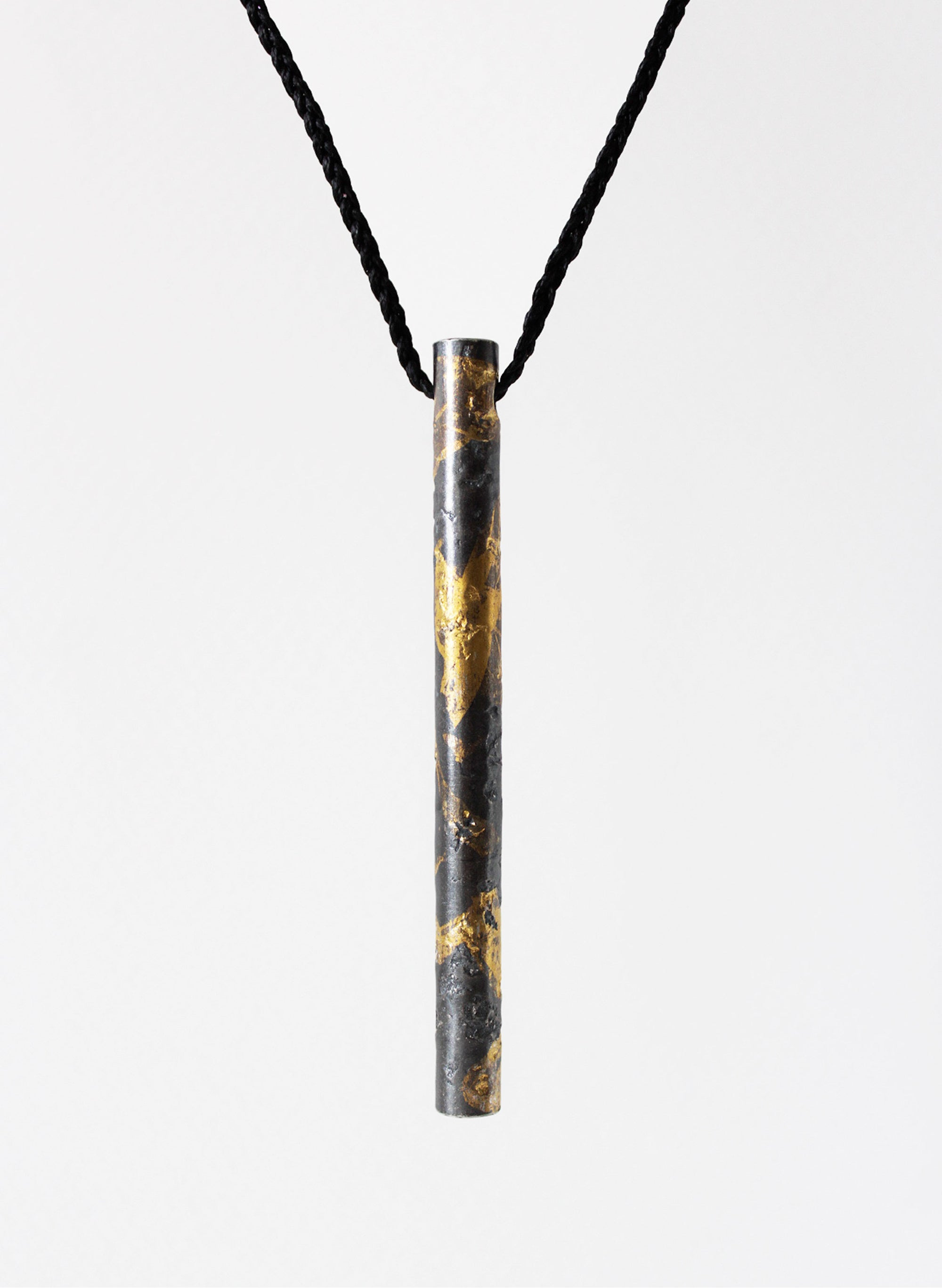 """Wrapped"" Cylindrical Pendant"