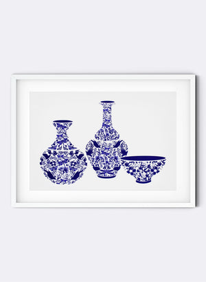 Precious Vessels No.3 - Screen Print