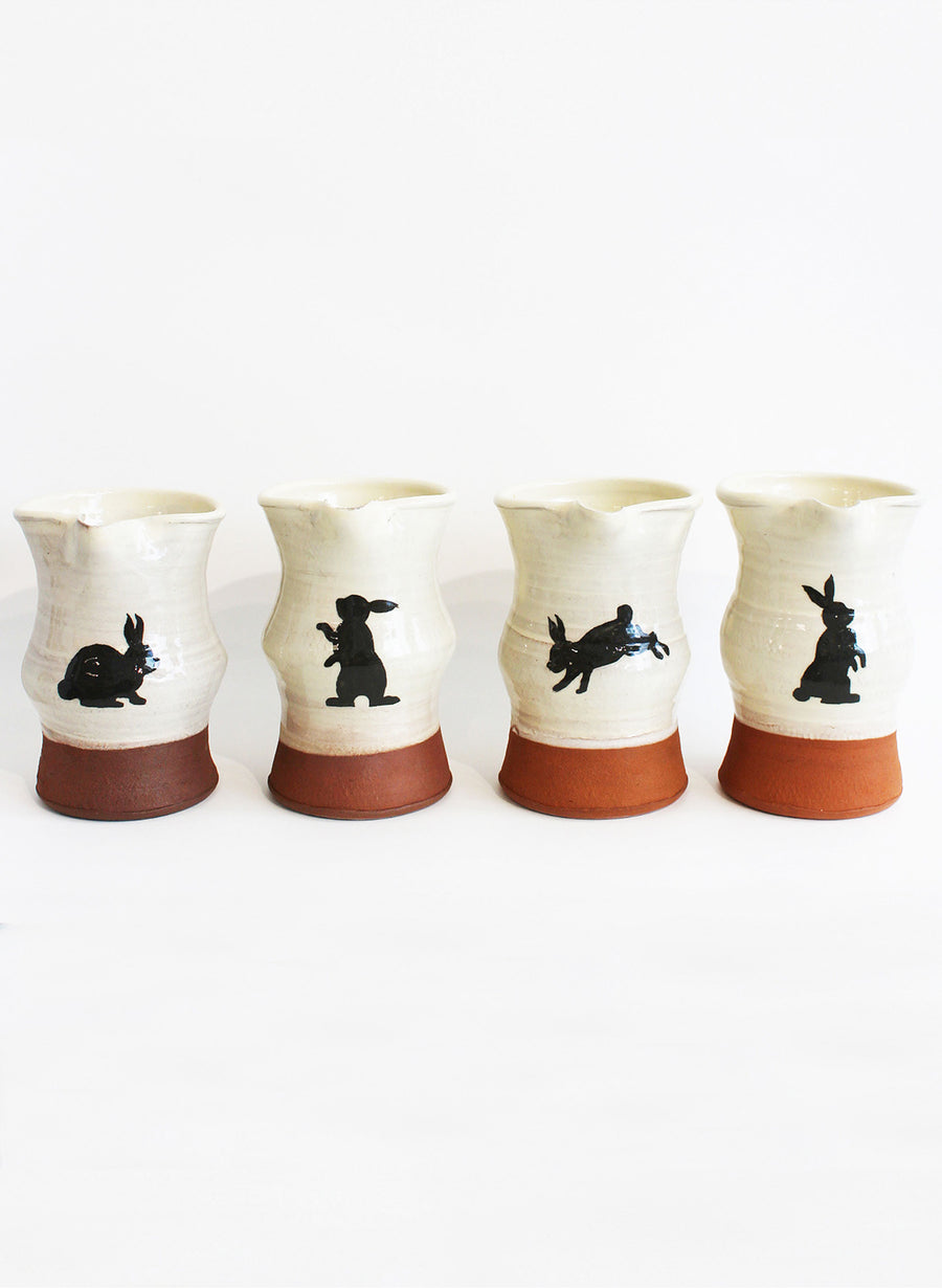 Small Bunny Jug - Cream