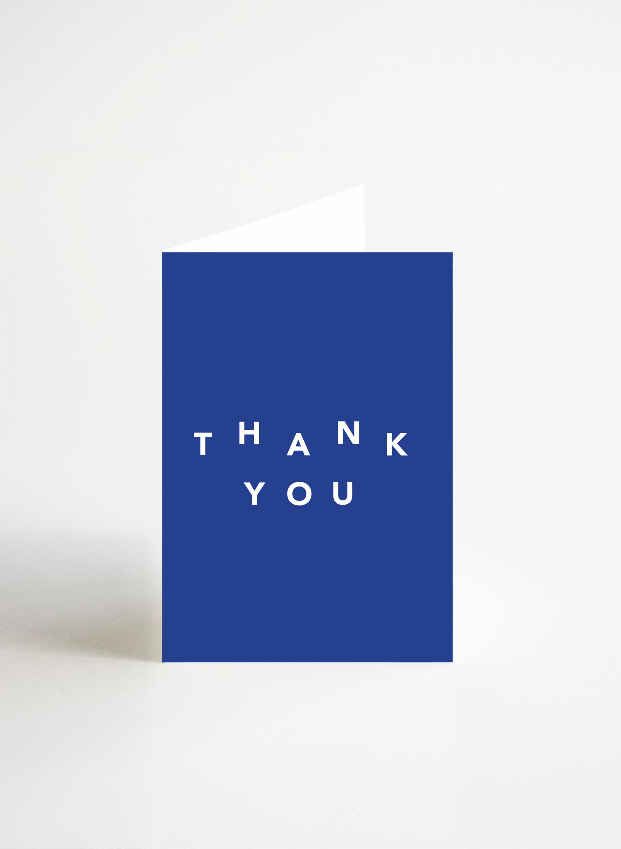 Thank You - Cobalt Blue