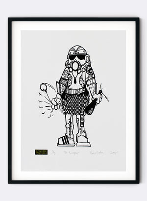Poi Trooper - Digital Print