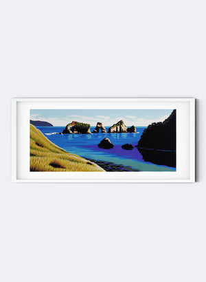 Mitre Rocks | Tolaga Bay - Screen Print