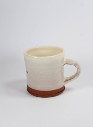 Red Cross Mug - Cream