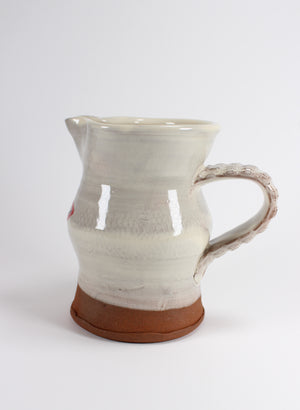 Small Jug - Cream with lips