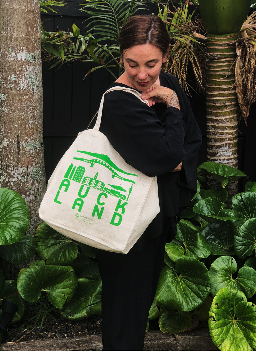 Auckland Tote Bag - Green