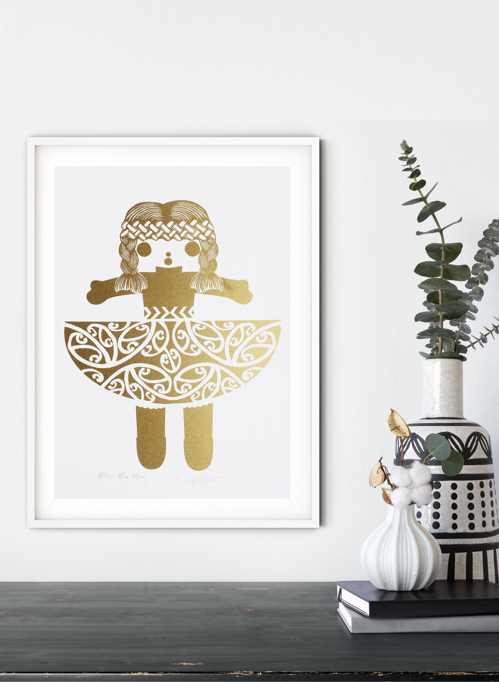 Mini Big Hug | Gold - Screen Print