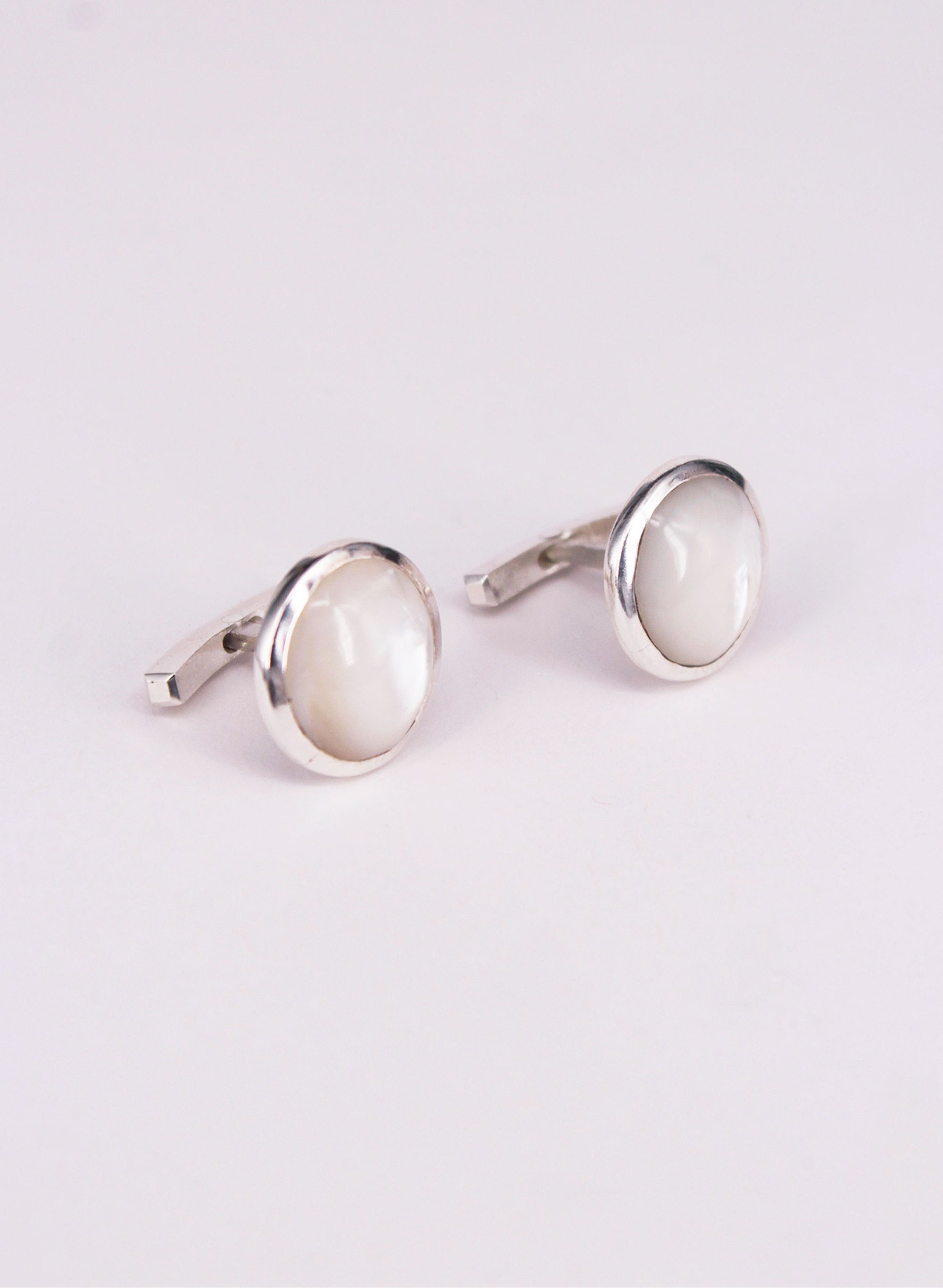 Mother of Pearl Dome Cufflinks