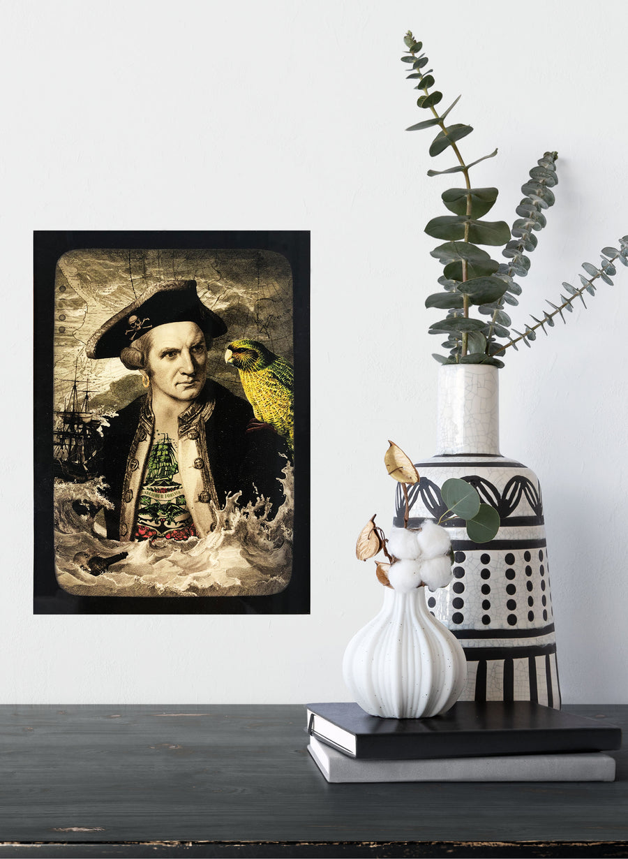 Captain Cook - Small Artwork