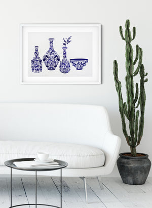 Precious Vessels No.4 - Screen Print