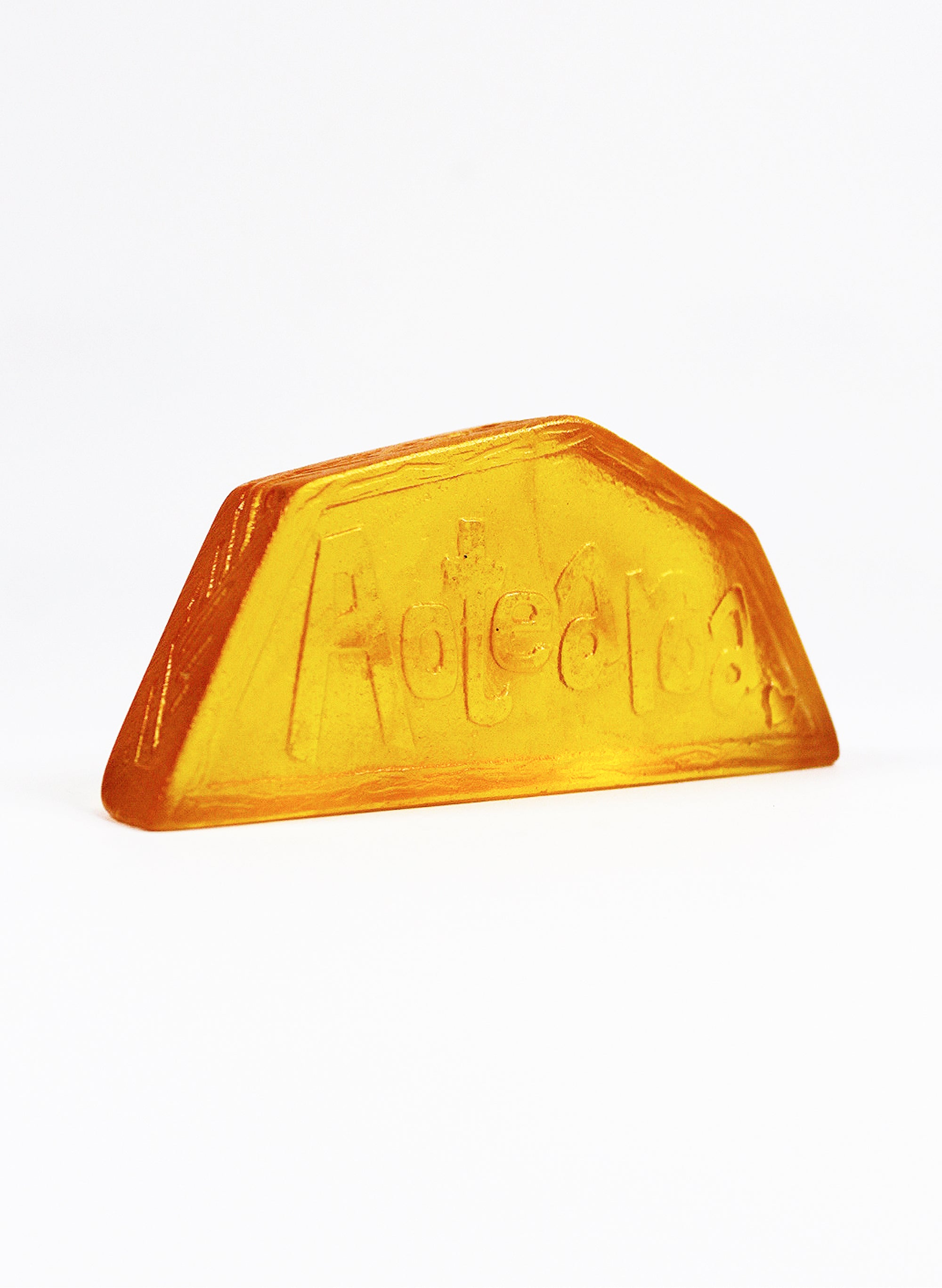 Wide Small Cast Glass Object - Aotearoa - Yellow