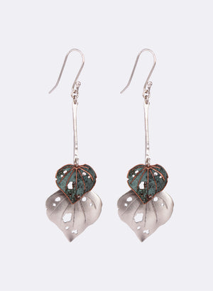 Kawakawa Double Dangles with copper