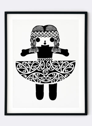 Big Hug | Black - Screen Print