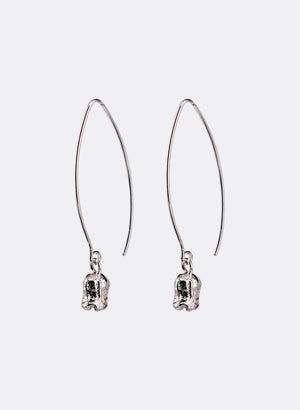 Rātā Drop Earrings - Sterling Silver