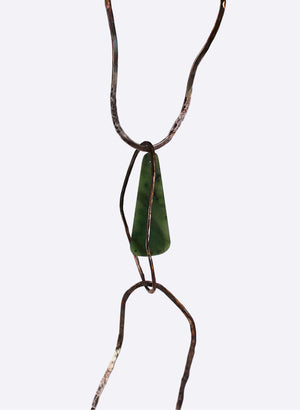 Necklace - Sterling Silver And Pounamu