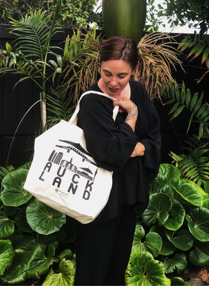 Auckland Tote Bag - Black