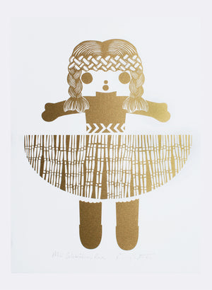 Mini Celebration Rua | Gold - Screen Print