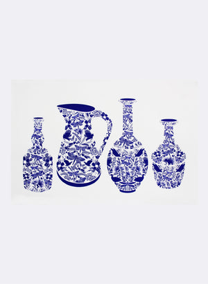 Precious Vessels w/ Jug - Screen Print